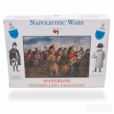 a Call to Arms 1/32 Series 27 Waterloo Inniskilling Dragoons Cavalry X 4
