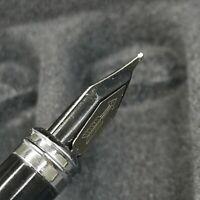 Rare Old Stock PD Fountain Pen Aerometric Pen Classic Reversible Nib 1990S