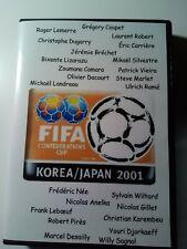 Coupe des confédérations Équipe de France 2001 (lire L'annonce)