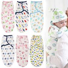 Newborn Baby Swaddle Blanket Wrap Sleeping Bag Infant Warm Cotton Stroller Sack