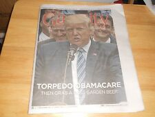 GAY CITY Pres Trump Torpedo Obamacare Then Grab Rose Garden Beer, B Hoffman 2017