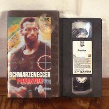 Predator VHS Movie Tape original 1987 Rental box Carl Weathers Jesse Ventura