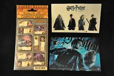 Harry Potter Stickers + Order of the Phoenix and Half Blood Prince Blu Ray