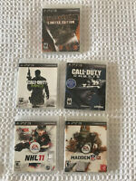 Sony Playstation 3 PS3 Five Game Mixed Lot CD Mint Condition No Scratches