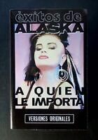 ALASKA exitos de Alaska SPAIN CASSETTE TAPE HISPAVOX 1986