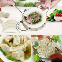 Eco-Friendly Pastry Tool Stainless Steel Dumpling Maker Wraper Dough Cutter Kit*