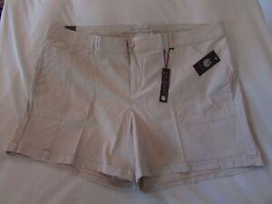 "Ladies ""Gloria Vanderbilt"" Size24W, Stonewood Patch Pocket Cuffed Utility Shorts"