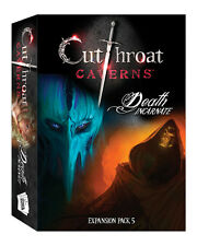 Cutthroat Caverns: PRESALE Death Incarnate expansion board game New
