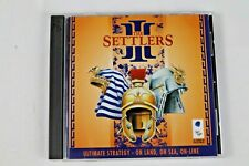 The Settlers III PC Game 1998 Blue Byte Software NICE Windows 98
