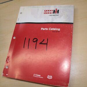 CASE IH 1194 Tractor Parts Manual Book spare catalog farm 1985 factory original