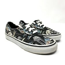 Vans Star Wars Women's 6 US Empire Collage Canvas Off The Wall Shoes Sneakers