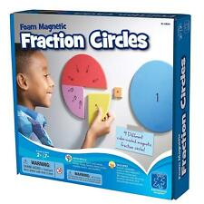Educational Insights Foam Magnetic Fraction Circles Math Skills 9 Sets Included