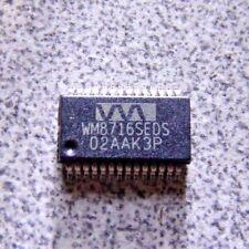 WM8716SEDS High Performance 24-bit, 192kHz Stereo DAC SSOP28 (K)