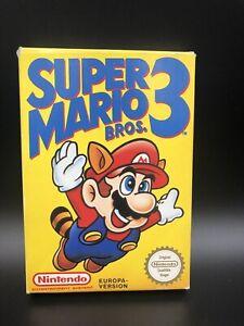 NES Nintendo Super Mario Bros 3 Ovp