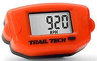 TRAIL TECH TTO TACH TACHOMETER HOUR METER KTM ORANGE MX ATV UTV ENDURO 743-A00