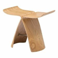 Butterfly Stool Ash Plywood Chair For Living Room Bedroom Wooden Natural Display