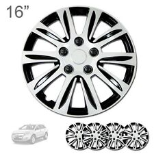 """FOR FORD NEW 16"""" ABS SILVER RIM LUG STEEL WHEEL HUBCAPS COVER 547"""