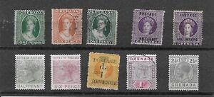 Grenada. # 3, 5, 6, 8, 9, 20, 25, 34.   $ 165