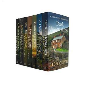 West Country Mysteries Collection 7 Books Set Pack By Rebecca Tope NEW