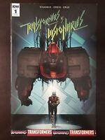 Transformers vs. the Visionaries #1 2017 IDW Retailer Incentive Variant Comic