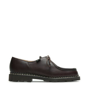 Paraboot Michael Shoe Smooth Coffee Leather - SALE