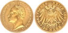 Sachsen-Weimar Eisenach 20 Mark Gold Carl Alexander 1892A  vz/vz-st