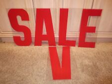Plastic Sign Letters Flashing Arrow Advertising Display Signs Windows Save Sale
