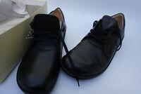 FINN COMFORT Vaasa Damen Schuhe Schnürschuh mit Einlagen Gr.37 Leder schwarz NEU
