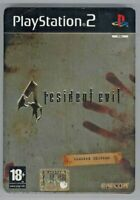 PS2 Playstation Resident Evil 4 Limited Edition Steelbook PAL ITA Usato OTTIMO