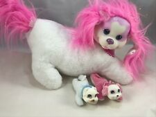 Puppy Surprise Plush Pet With 2 Babies One pup Pants and barks (AL)