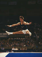 OLD SPORTS PHOTO OLYMPIC GYMNASTICS Kurt Thomas Of The United States 2