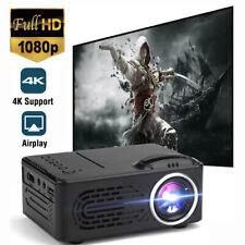 Mini Led Projector Full Hd 1080P Portable Video Movie Home Theater Cinema Hdmi