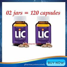 120 CAPS LIC WEIGHT LOSS NATURAL WAY REDUCE WAIST HIP 8 WEEKS! NEW IN BOX.
