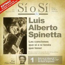 Luis Alberto Spinett - Si O Si: Dario Del Rock Argentino [New CD]