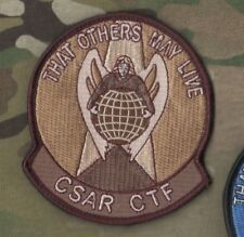 US AFSOC PJ MEDEVAC COMBAT RESCUE burdock-PATCH: THAT OTHERS MAY LIVE CSAR CTF