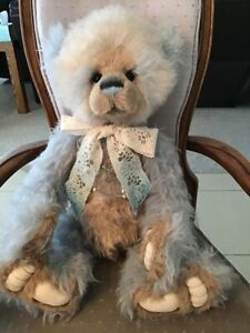 """Charlie Bears Je t'aime 2019 Isabelle Mohair Collection 24"""" FREE US SHIP"""
