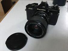 Fujica AX3 35mm Film Camera With X Fujinon 35mm-70mm F2.8