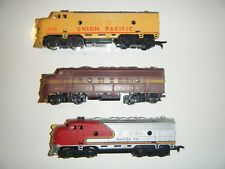 Bulk three locomotive trains  incl. Bachmann for parts or repair