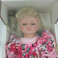 Lissi Batz Tracey Doll 1991 Made West Germany Vinyl By A. Schirdewahn Batz  Girl