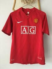 MANCHESTER UNITED 2007 2008 2009 HOME FOOTBALL SOCCER SHIRT JERSEY NIKE XS-S