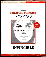 Michael Jackson Invicible CD & Book: El Rey Del Pop Limited Collectors Edition