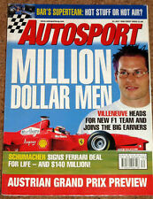 Autosport 23/7/98* McRAE & BURNS - BAR FACTORY - PRODRIVE FORD BTCC TEAM - CART