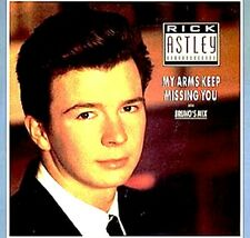 "12"" - Rick Astley - My Arms Keep Missing You (Bruno's Mix) MINT LISTEN*NUEVO OYE"