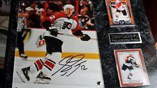 Simon Gagne #12 Philadelphia Flyers Signed Plaque coa