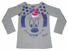 GIRLS LONG SLEEVED TOP DISNEY MINNIE MOUSE 3 YEARS OLD