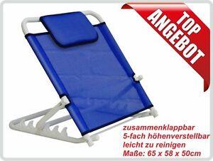 Rückenstütze Komfort, Bett- und Rückenstütze, Sitzhilfe, Rückenlehne, Lehne