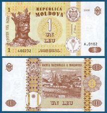 MOLDAWIEN / MOLDOVA 1 Leu  2006  UNC  P.8