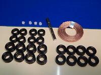 Lot rénovation pour JOUEF pneus , pignons , tresses aimants