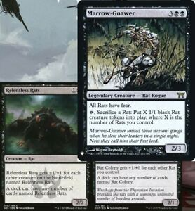 Marrow-Gnawer Relentless RATS and RAT Colony Commander Deck Magic the Gathering