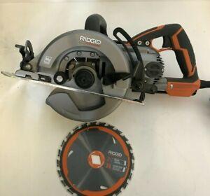 Ridgid R32104 THRUCOOL 15 Amp 7-1/4 in. Worm Drive Circular Saw, GR